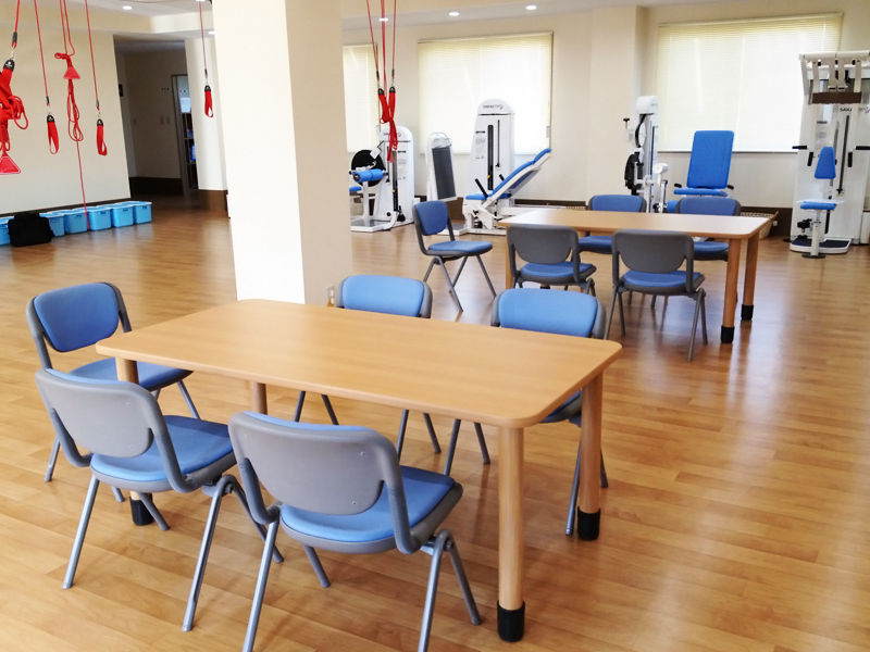 食堂及び機能訓練室